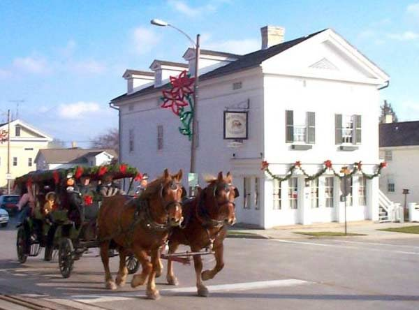 Carriage ride in Sheboygan Falls, WI